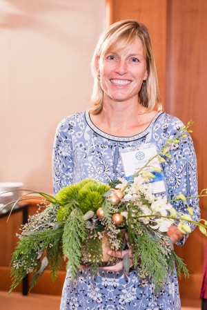 Kelly Caldwell receives Meaningful Green Award