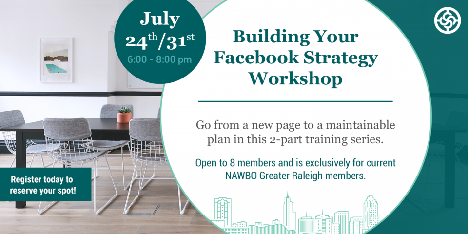 July NAWBO Raleigh facebook workshop
